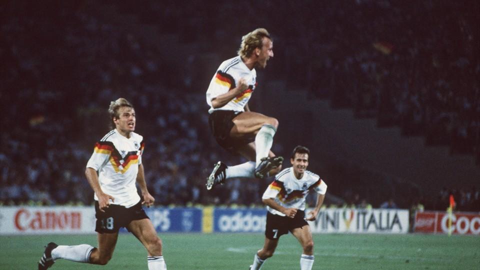 El gol de Andreas Brehme