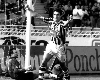 La anécdota de Emery y Craioveanu en día de la mayor goleada de la Real Sociedad en Anoeta