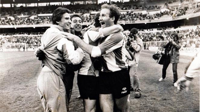Cuando el Hércules CF evitó el descenso ganando en el Santiago Bernabéu