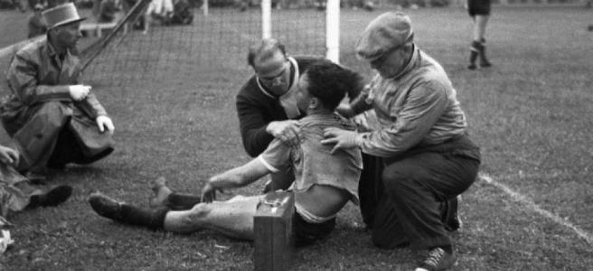 Juan Hohberg, el futbolista que murió, fue reanimado y siguió jugando