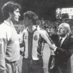 La anécdota de Javier Clemente y Losada en la tanda de penaltis de Leverkusen