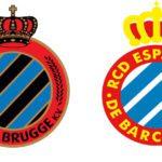 Los escudos del Club Brugge y RCD Espanyol, ¿plagio, tributo o simple coincidencia?