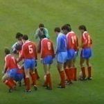 El debut de Frank Rijkaard con el Real Zaragoza en el Luis Casanova