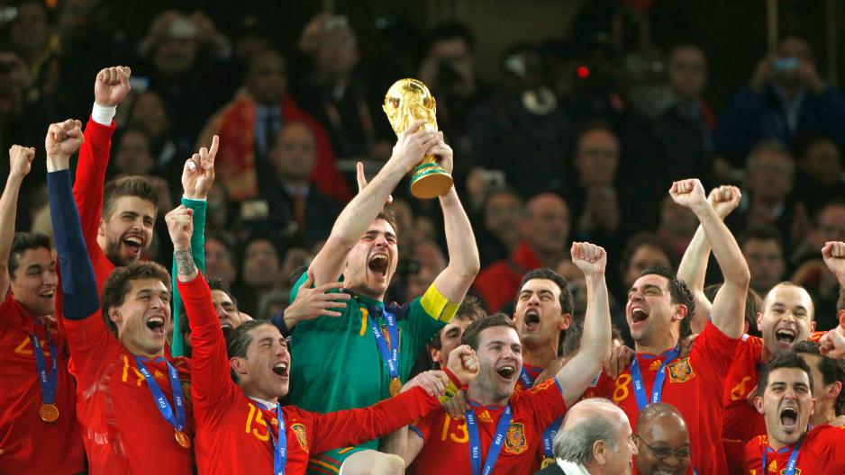España Sudáfrica 2010