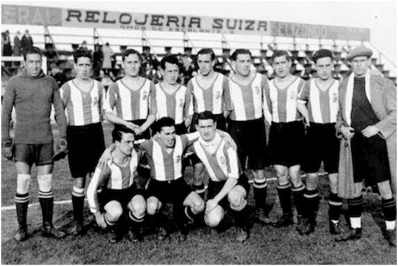 El Racing de Santander primer equipo en representar a España en un torneo Europeo