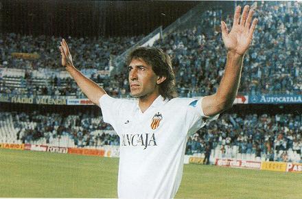 Ricardo Arias, leyenda del Valencia CF