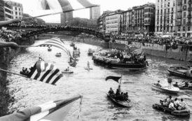 La gabarra del Athletic Club de Bilbao