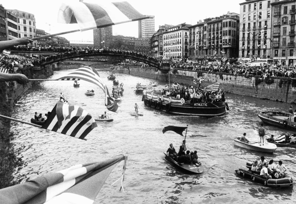 La gabarra del Athletic Club de Bilbao
