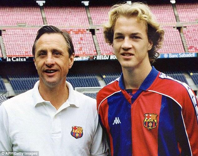 Johan y Jordi Cruyff