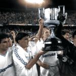 El Real Madrid campeón de Liga y Copa 1988-1989