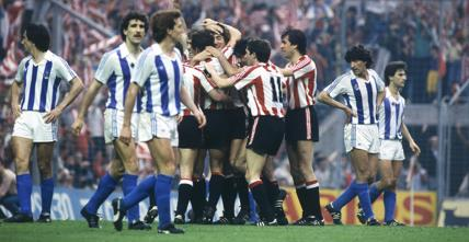 Athletic Club campeón de Liga 1983-1984