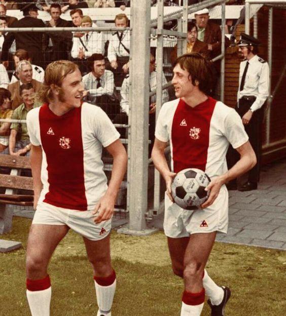 Neeskens y Cruyff