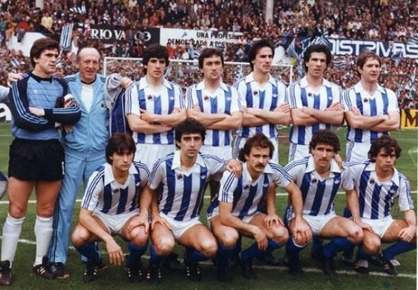 Real Sociedad campeón de Liga 81-82