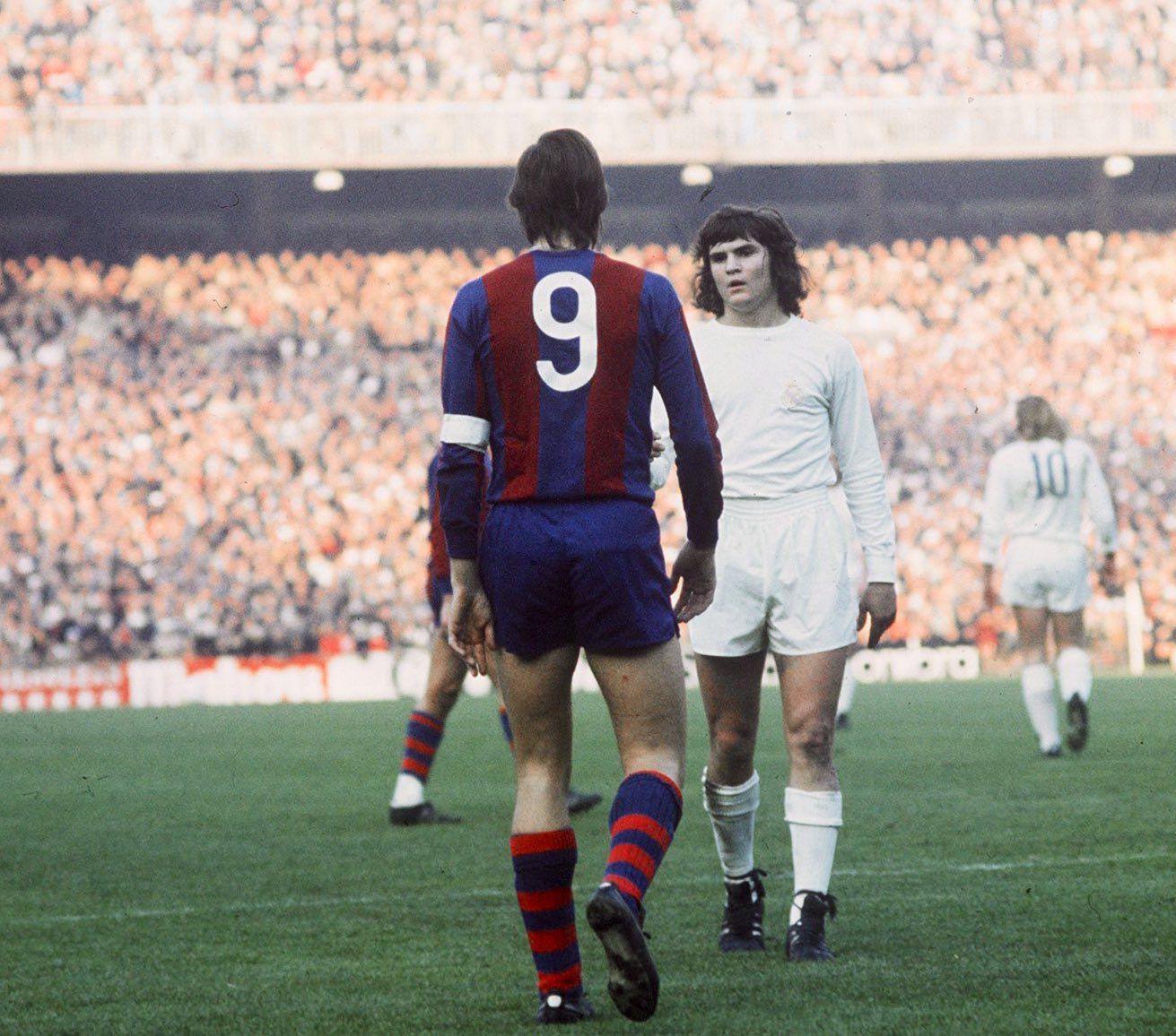 El día que Camacho siguió a Cruyff hasta al baño