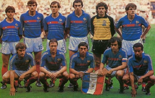 Francia Eurocopa 1984
