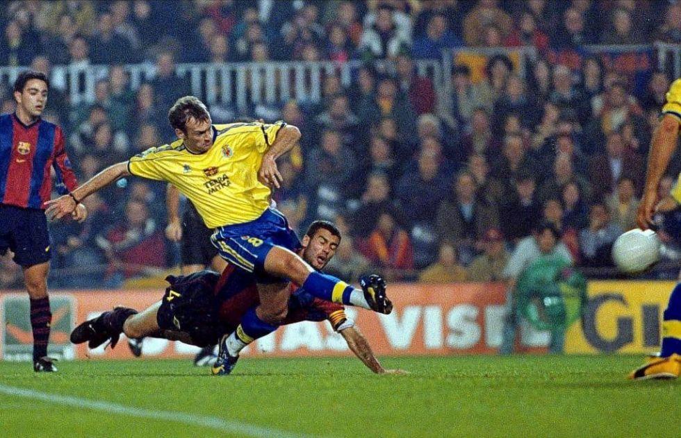 Cuando el Villarreal CF destrozó al Barça en su primera visita el Camp Nou