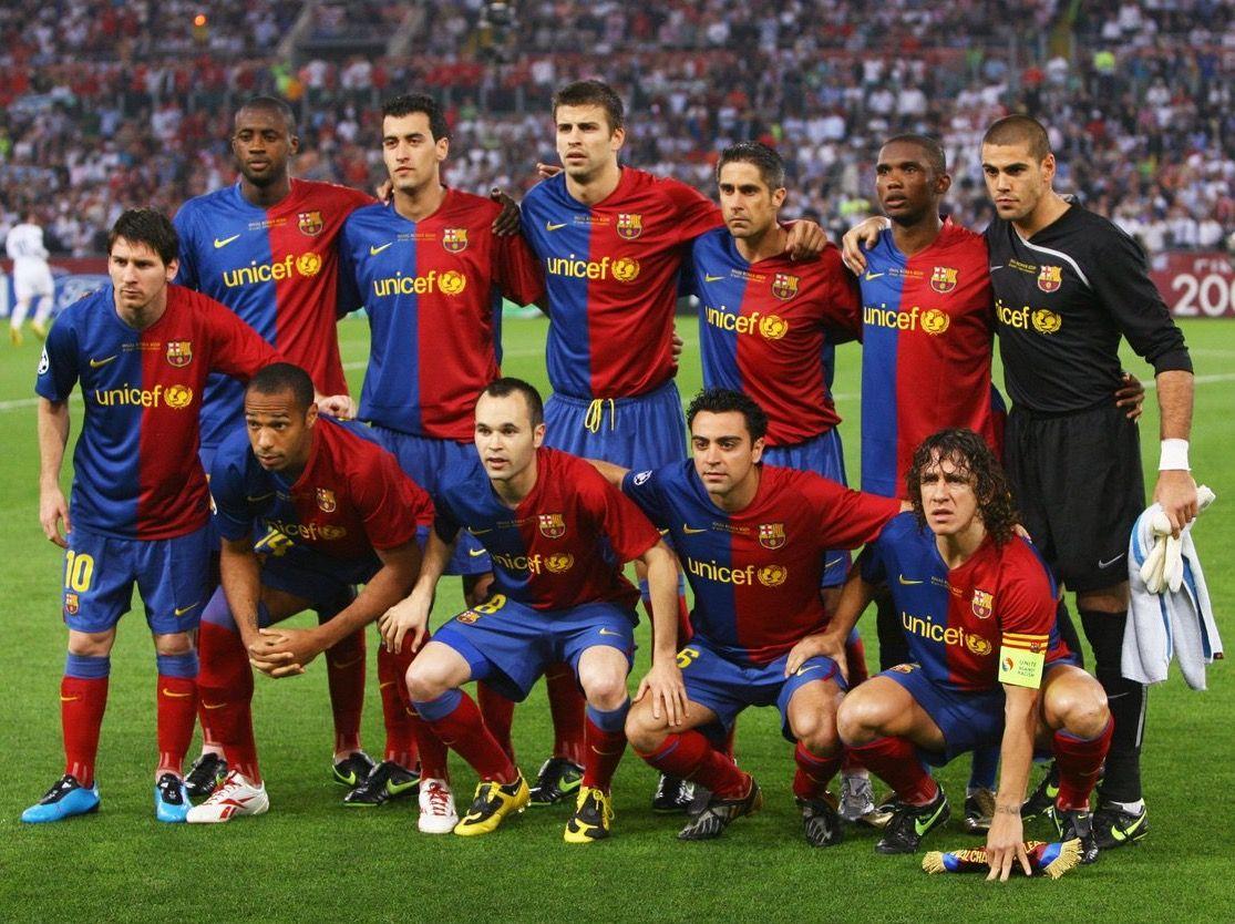 El Barça del sextete