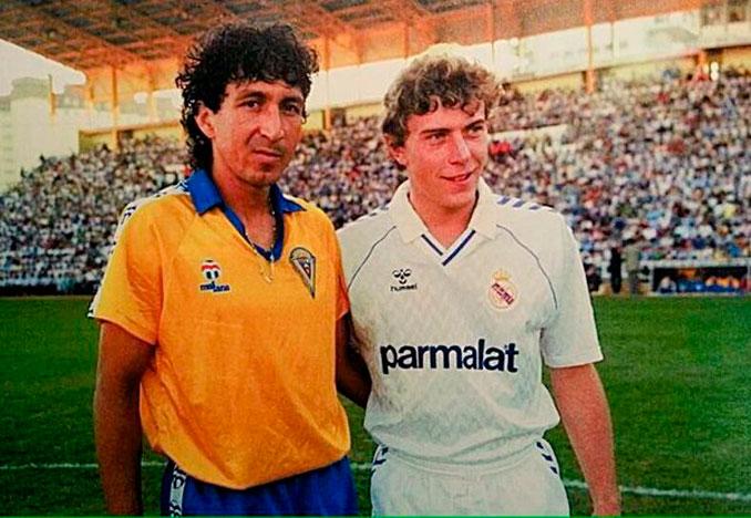 Emílio Butragueño y su curiosa relación con el Cádiz CF