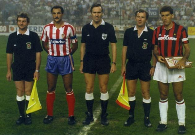 Copa de la UEFA 1987-1988: Cuando el Sporting derrotó al Milan de Sacchi