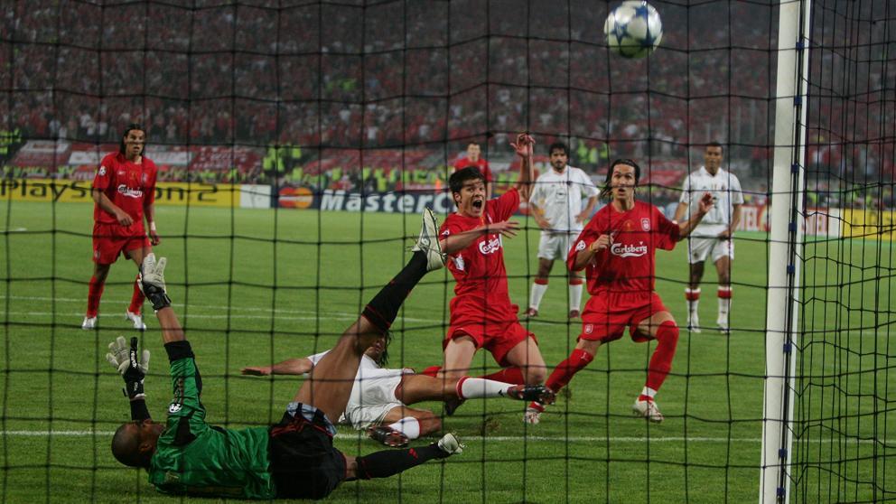 La increíble remontada del Liverpool en la Champions de 2005