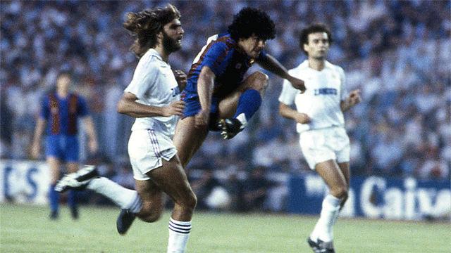 El día que Diego Armando Maradona salió ovacionado del Santiago Bernabéu