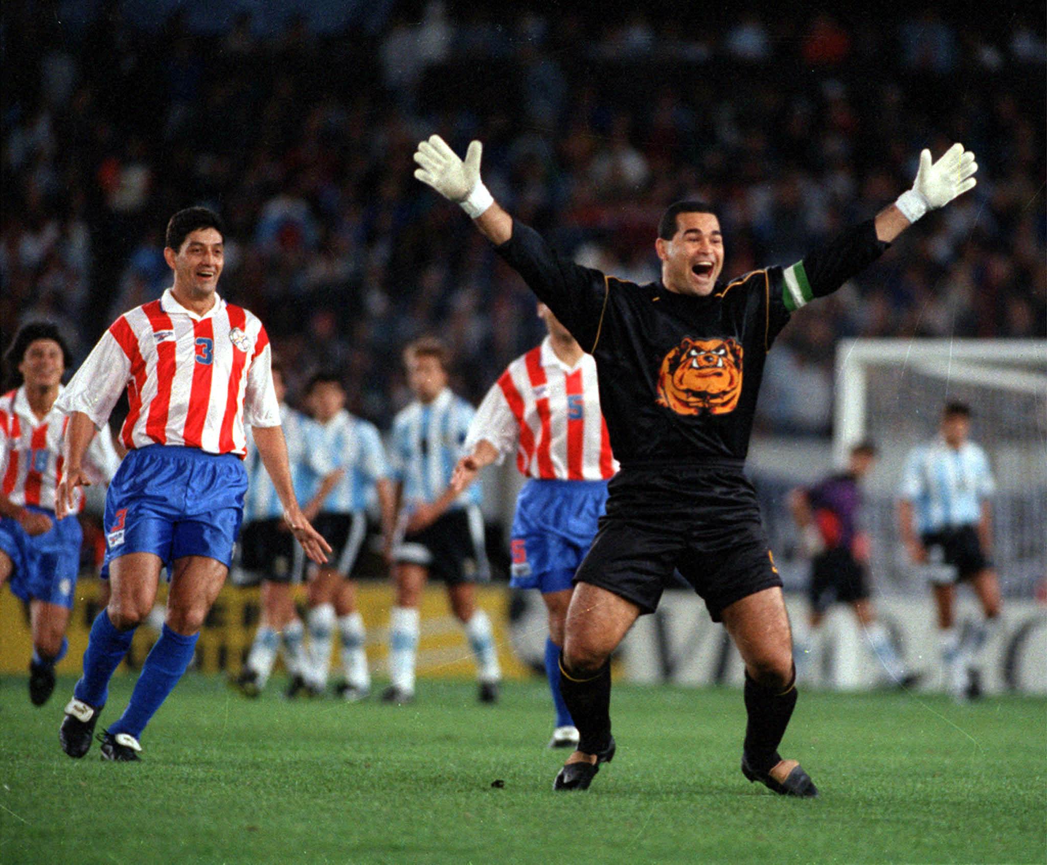 José Luis Chilavert, leyenda de Vélez Sarsfield y Paraguay