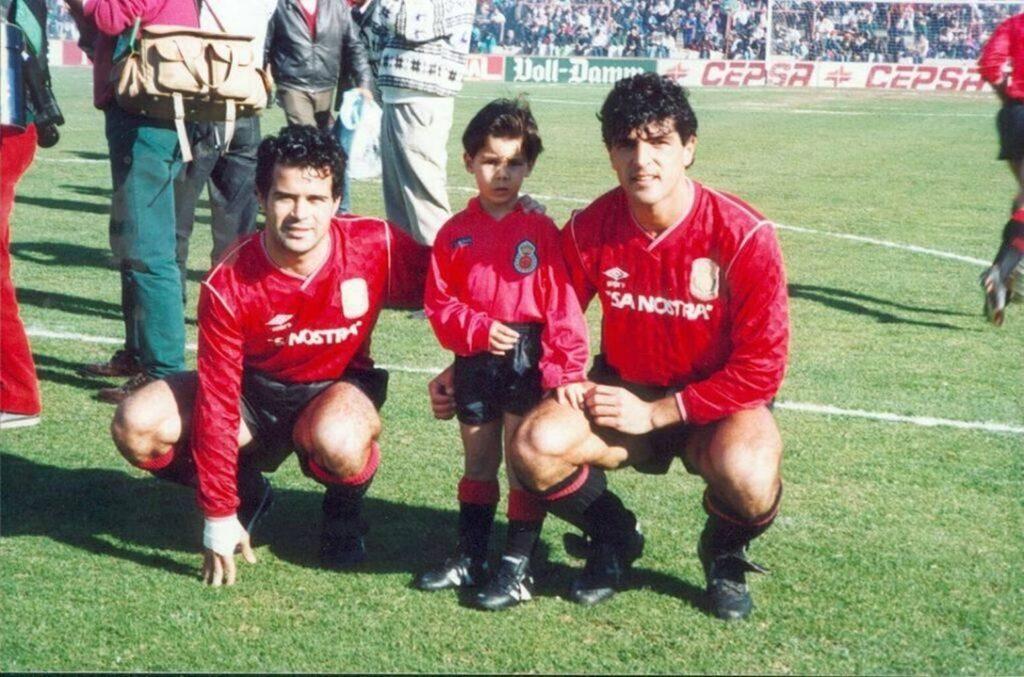Rafa Nadal, el delantero centro que se perdió el fútbol
