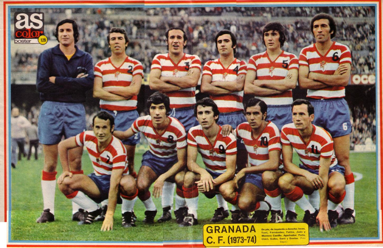 Camiseta del Granada CF