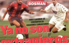 La Ley Bosman, el dinero de las TV, las SAD... el principio del fin del fútbol