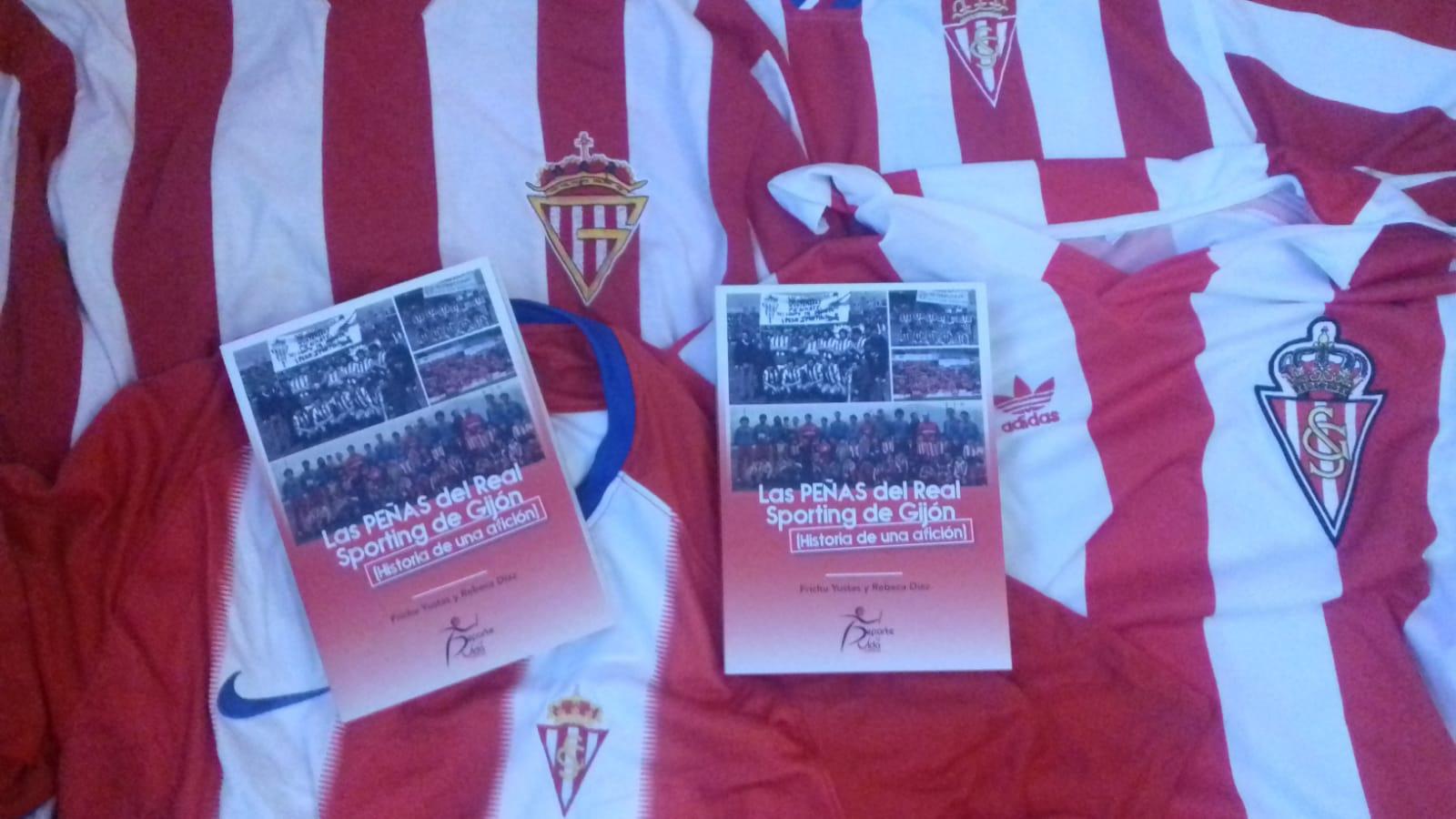 """""""Las peñas del Real Sporting de Gijón"""", el libro de Frichu Yustas y Rebeca Díaz"""