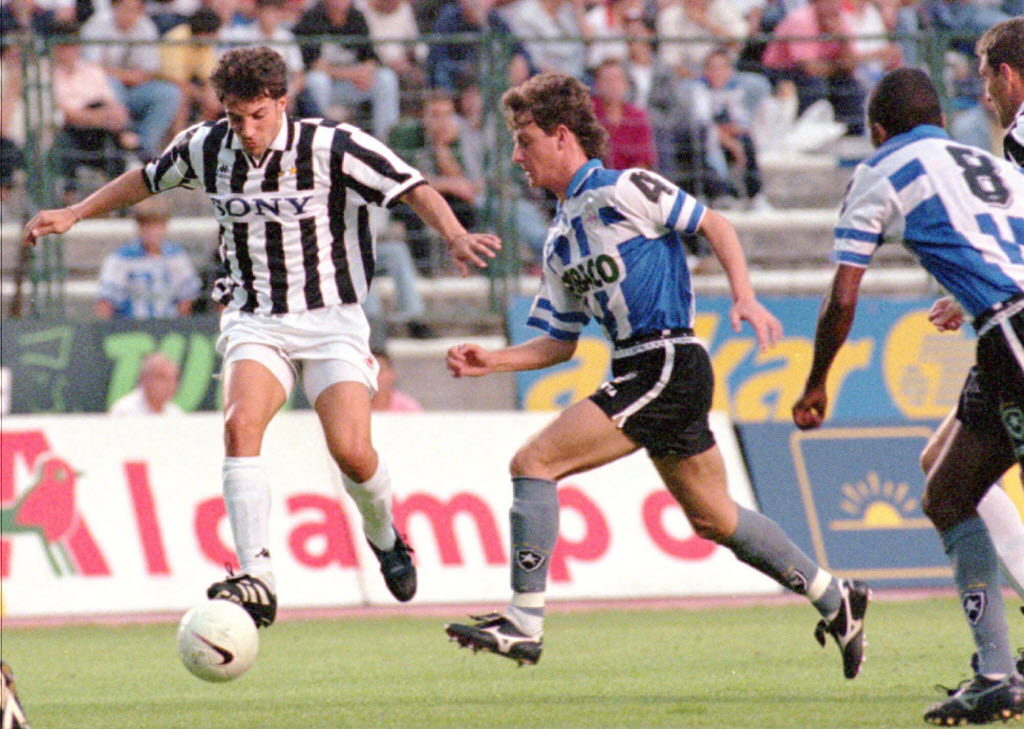 Trofeo Teresa Herrera 1996: El Botafogo gana la final con la camiseta del Dépor