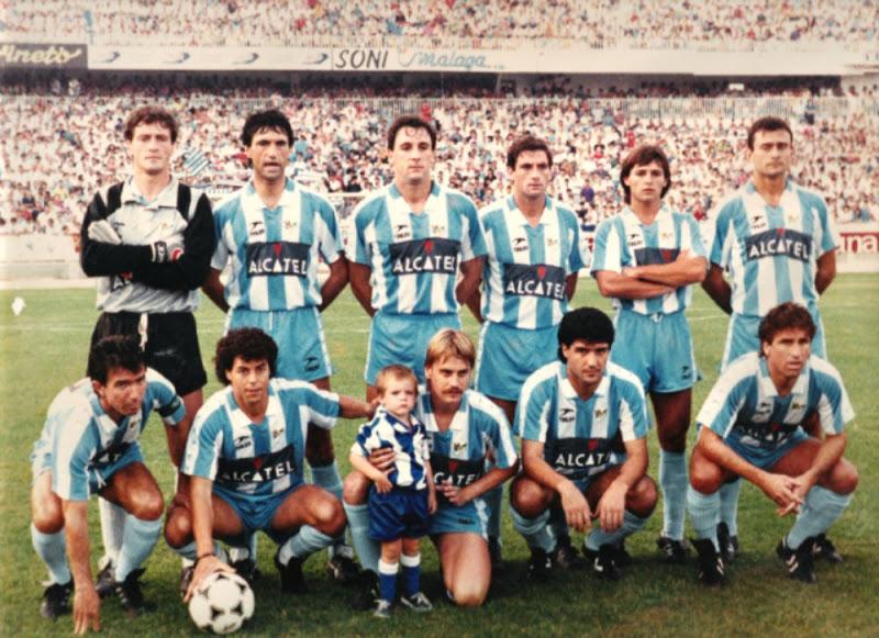 Mejor 11 histórico del CD Málaga y Málaga CF (según FUTBOLRETRO.ES)