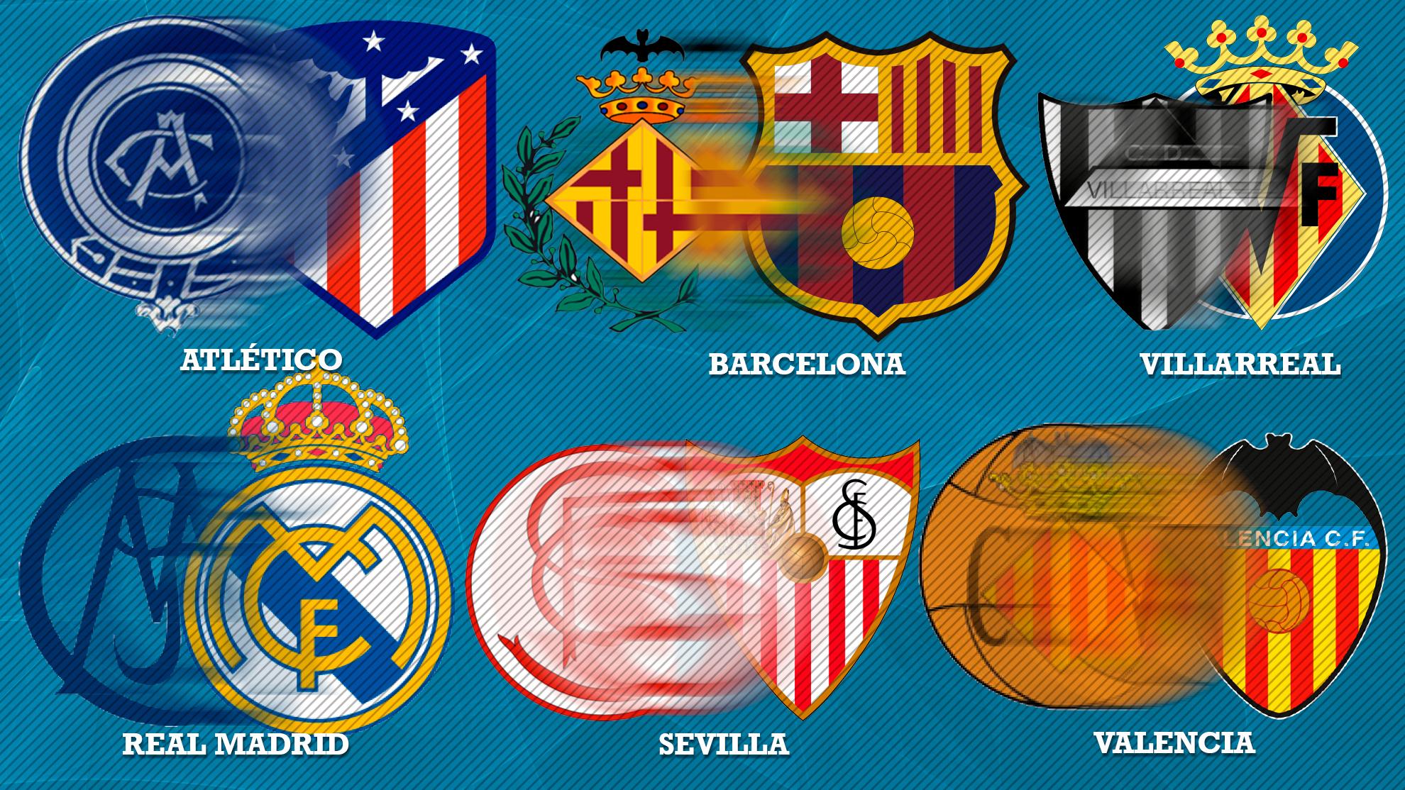 ¿Cómo era el primer escudo de los equipos de LaLiga?