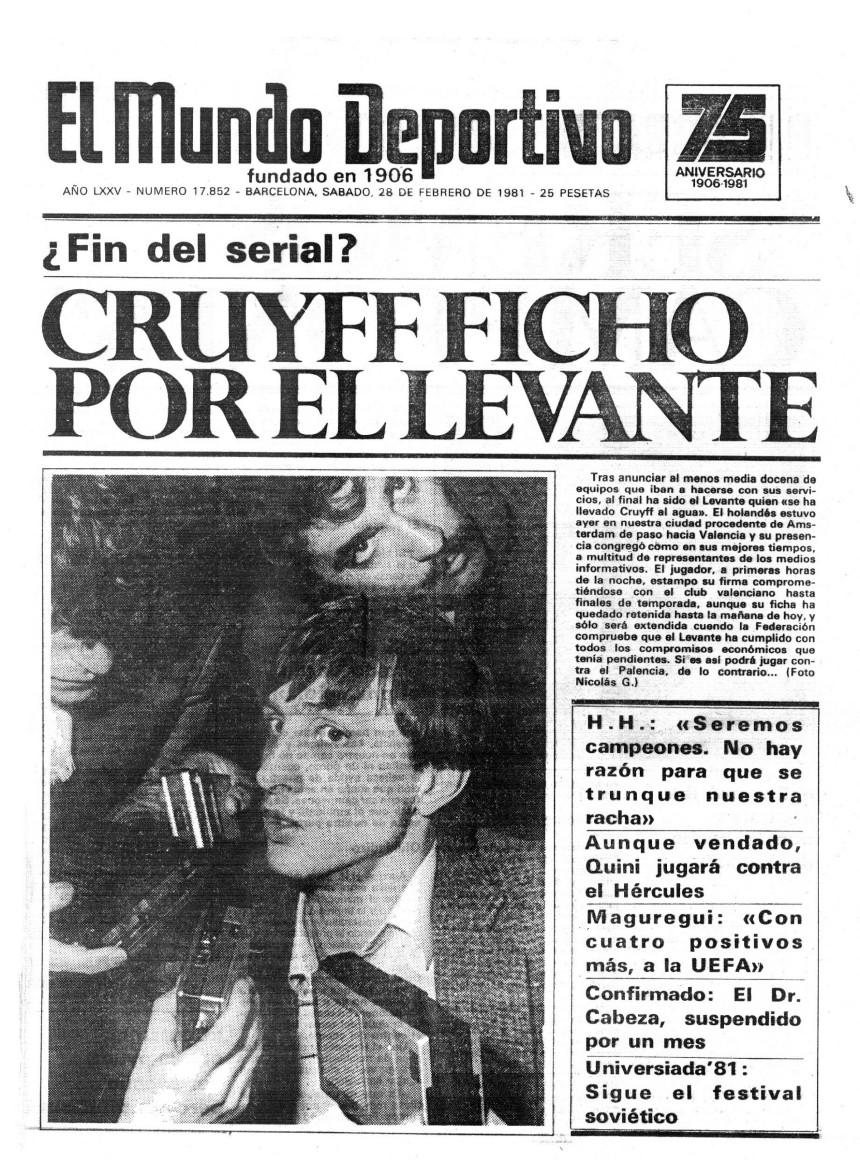 El fichaje de Cruyff