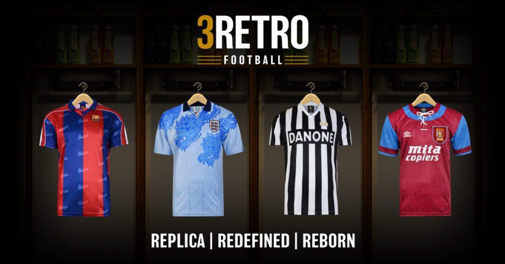 3RETRO FOOTBALL, tienda online de camisetas de fútbol retro
