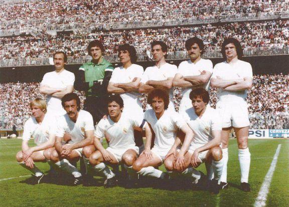 Ángel Pérez García, uno de los integrantes del Real Madrid de 'Los García'