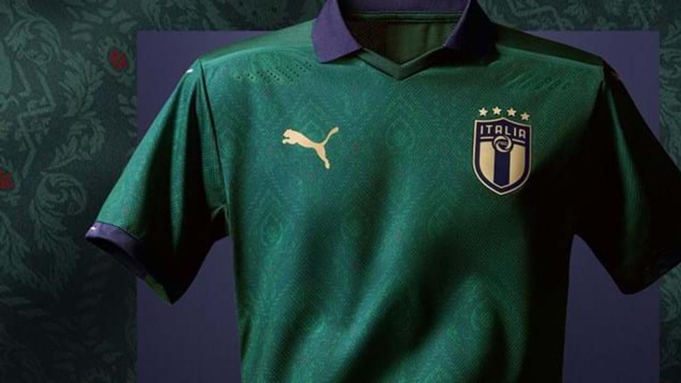 Camiseta verde de Italia