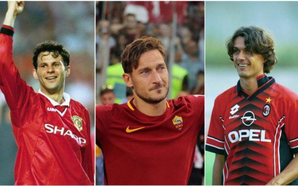 El TOP 50 de los 'One club man': Futbolistas que jugaron en un solo equipo