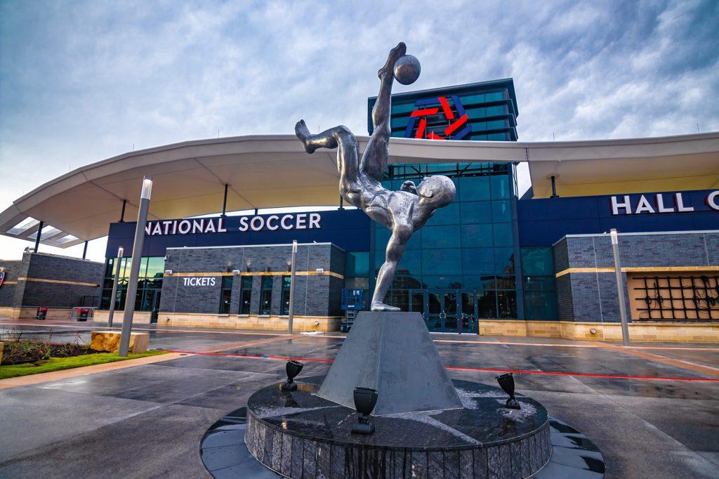 El único futbolista español presente en el 'National Soccer Hall of Fame' de Estados Unidos