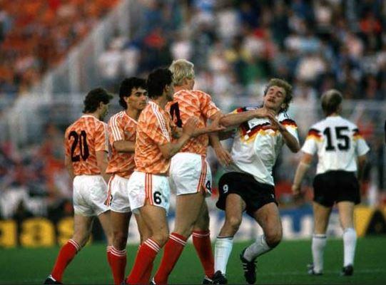 Holanda Alemania 1988