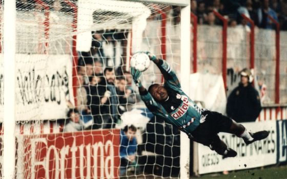 Wilfred Agbonavbare, the legendary goalkeeper Ray to which we will ...