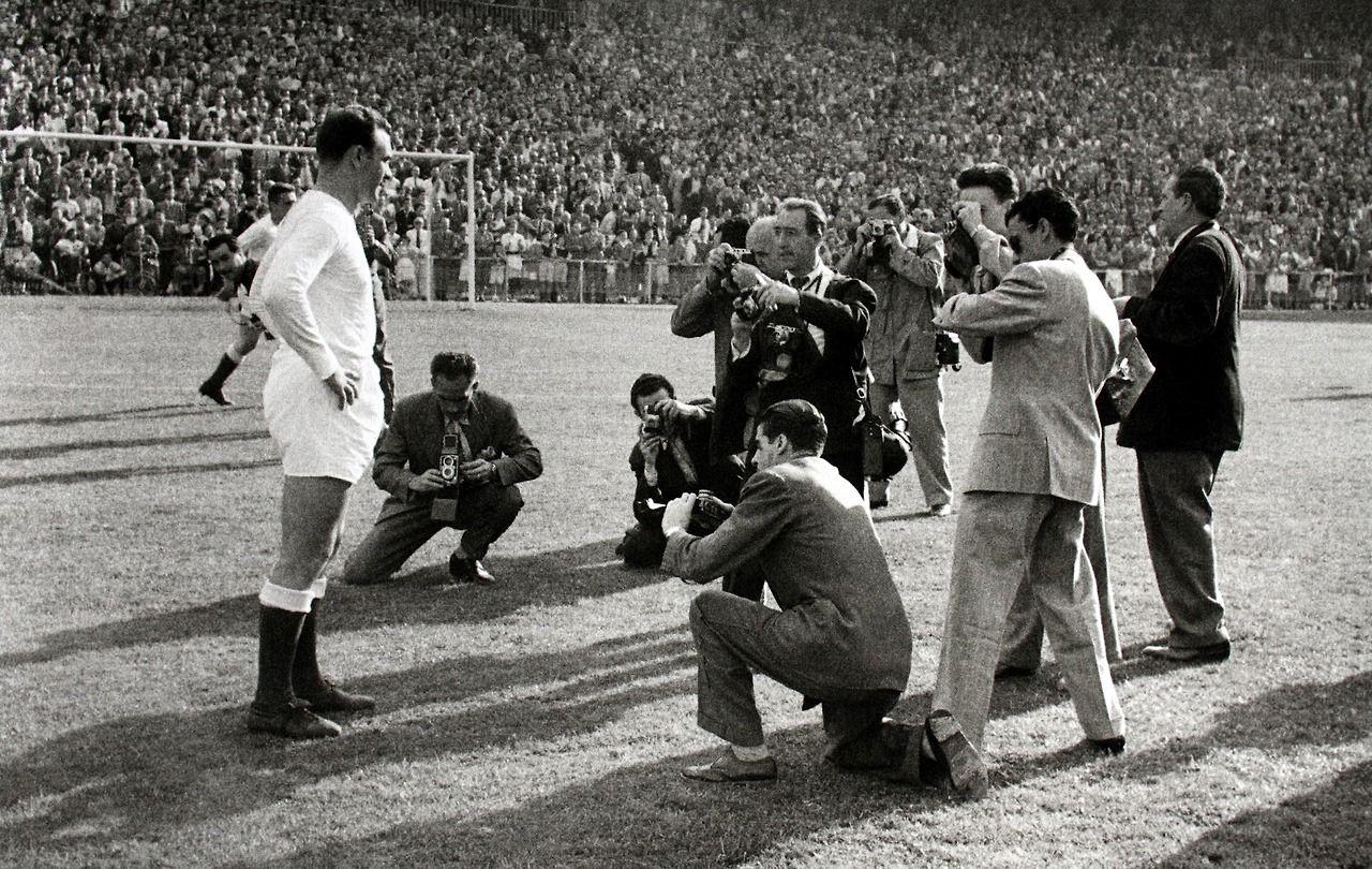 Así era el Real Madrid de Alfredo Di Stéfano