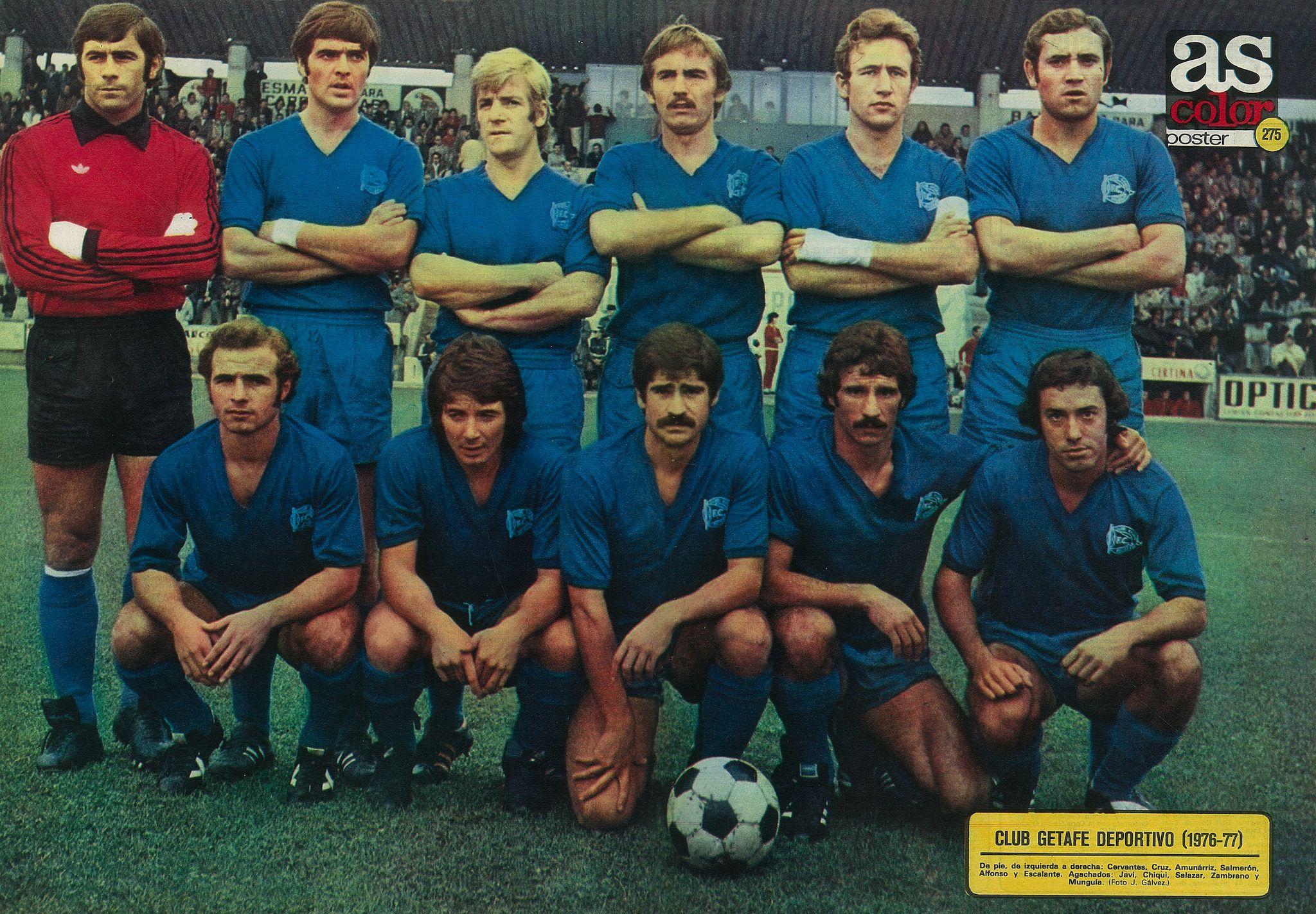 ¿Por qué la camiseta del Getafe CF es de color azul?