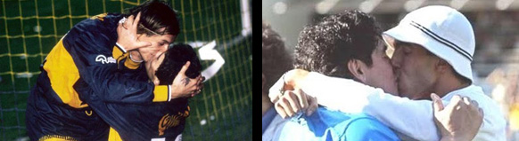 Besos Maradona