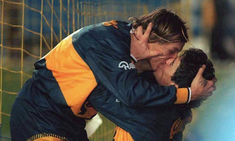 Algunos de los besos más famosos del fútbol