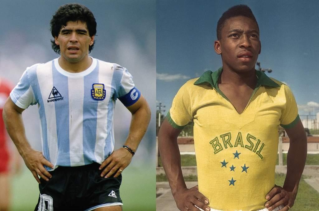 ¿Cuántos balones de oro hubieran ganado Pelé y Maradona?