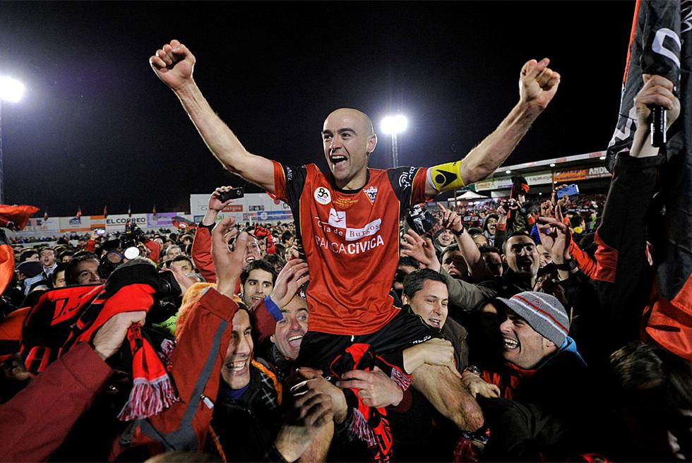 Equipos de Segunda y Segunda B que llegaron a las semifinales de Copa del Rey