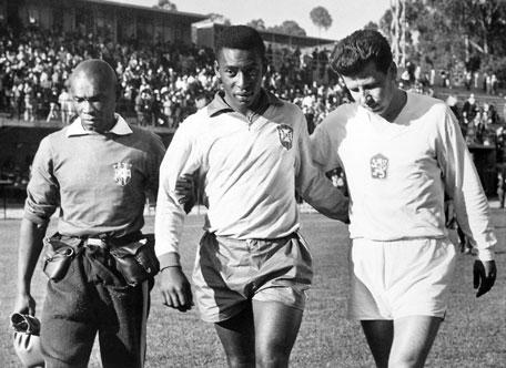 Mario Américo y Pelé