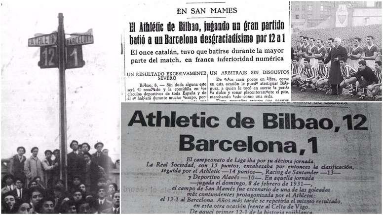 Las mayores goleadas de la historia de la Liga española