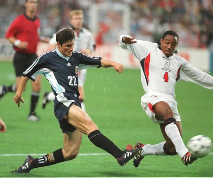 El gol de Javier Zanetti contra Inglaterra que salvó una vida
